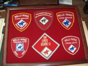 Panel de emblemas del grupo WELLS FARGO