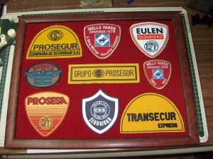Emblemas de empresas de transportes.