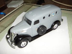 1947 Internacional KB-3 Armored Truck Tennesse Vaults