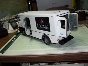 Camion blindado Mercedes Actros.