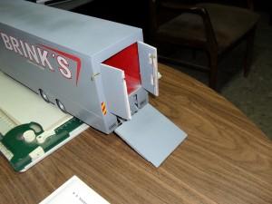 Maqueta remolque de plastico de escala 1/24.